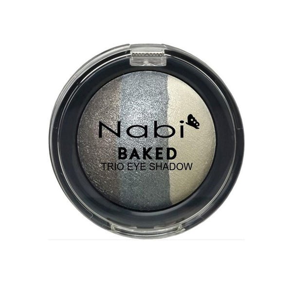 TE18 - BAKED TRIO EYESHADOW GRAY