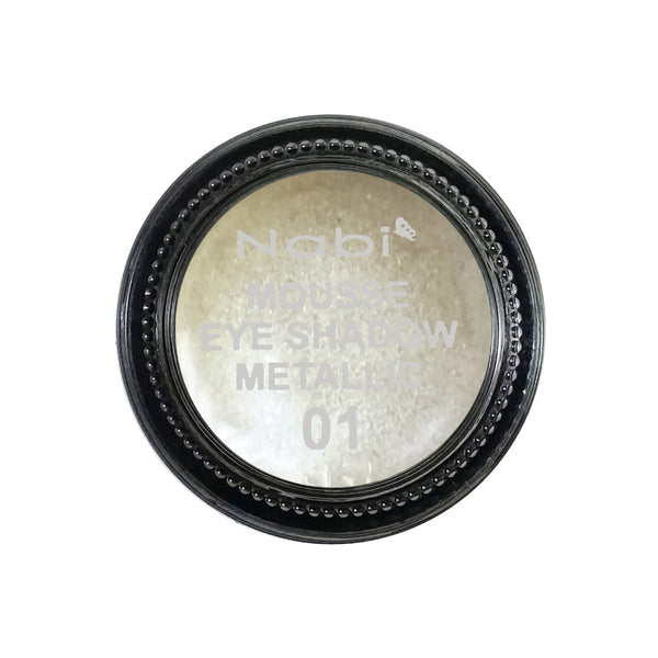 MES-48(#01) NABI MOUSSE EYESHADOW METALLIC