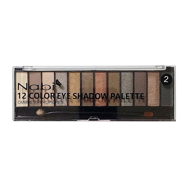 A502(02) - 12COLOR EYESHADOW PALETTE