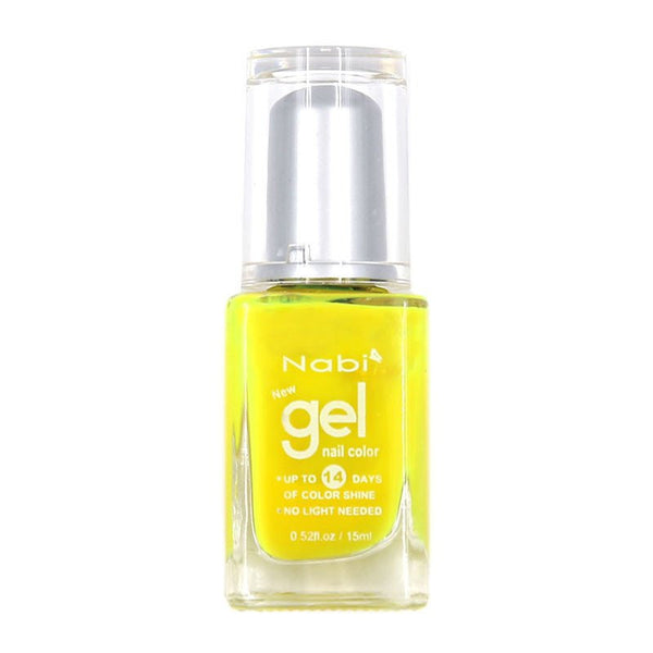 NG20 - New Gel Nail Polish Neon Funky Yellow