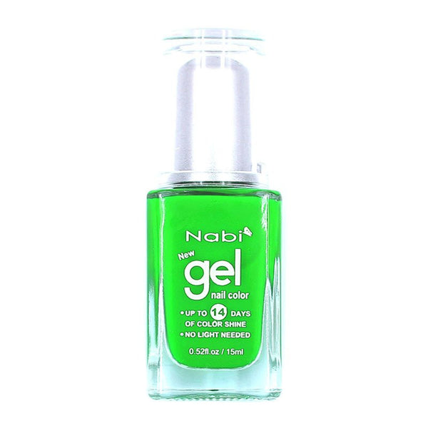 NG23 - New Gel Nail Polish Neon Green II