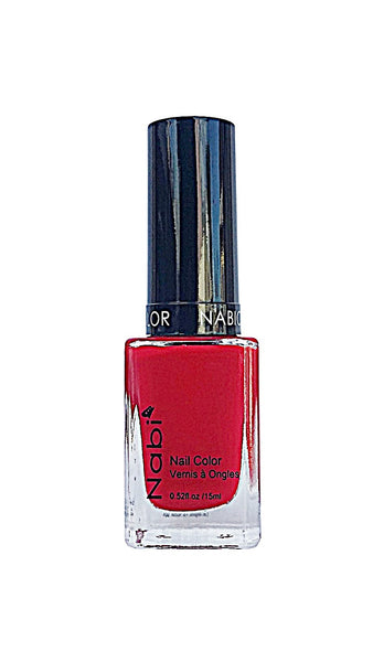 NP24 - Nabi 5 Nail Polish Hot Red