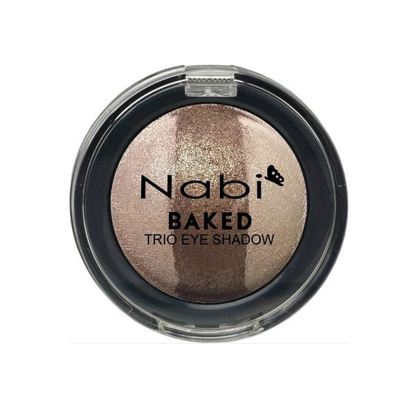 TE02 - BAKED TRIO EYESHADOW BROWN