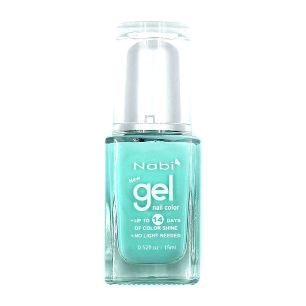 NG34 - New Gel Nail Polish Summer Green