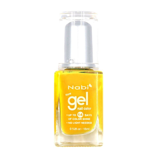 NG39 - New Gel Nail Polish Neon Yellow