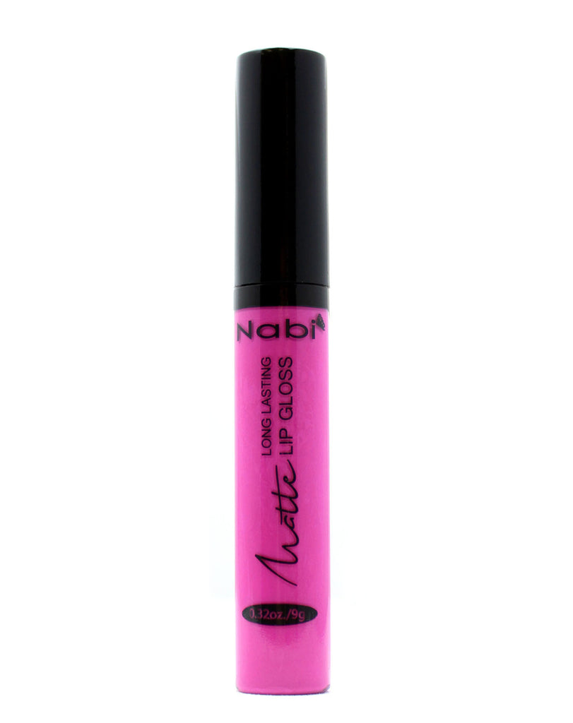 MLG04 - Long Lasting Matte Lip Gloss Hot Pink