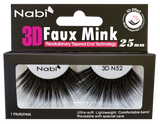 3D N52 - Nabi 3D Faux Mink Eyelash 25mm