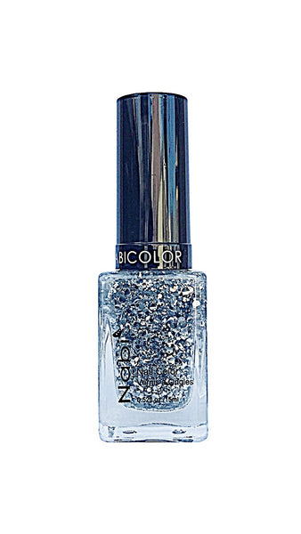 NP58 - Nabi 5 Nail Polish Silver Big Ball
