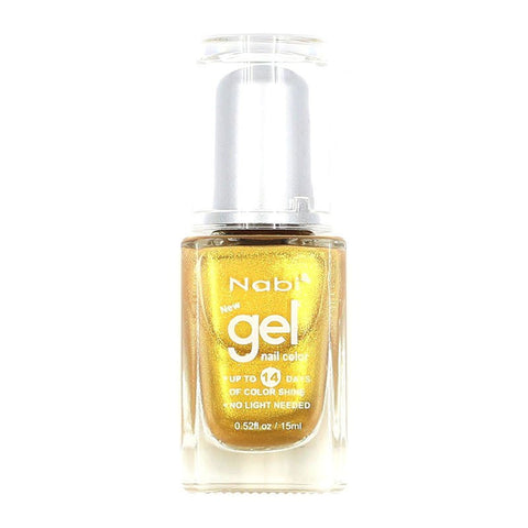NG06 - New Gel Nail Polish Gold