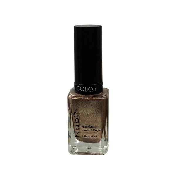 NP73 - NABI 5 NAIL POLISH DARK BRONZE