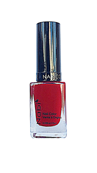 NP78 - Nabi 5 Nail Polish Red Red