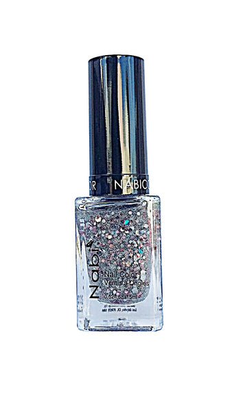 NP82 - Nabi 5 Nail Polish New Multi Glitter