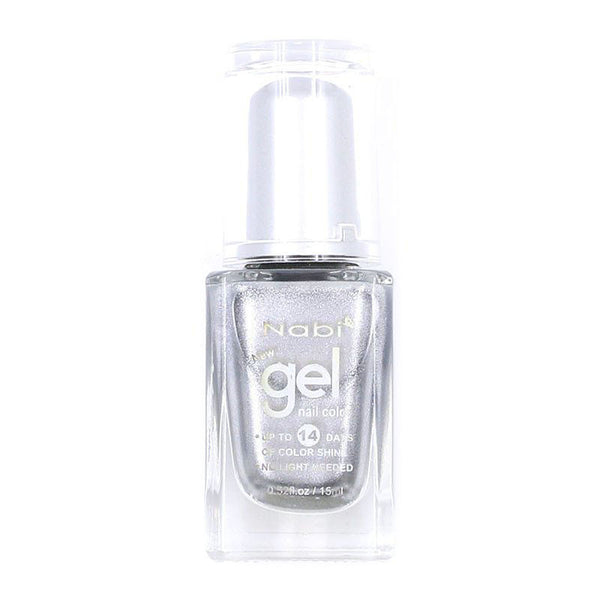 NG82 - New Gel Nail Polish Silver Glitter