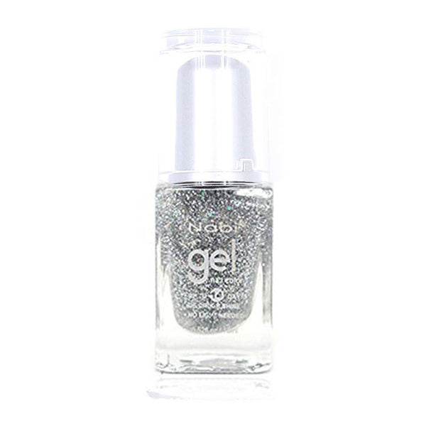 NG86 - New Gel Nail Polish Silver Round Ball