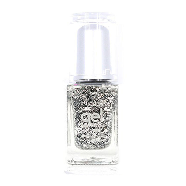 NG88 - New Gel Nail Polish Silver Big Ball