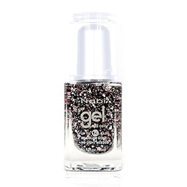 NG96 - New Gel Nail Polish Pink Flake