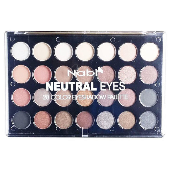 A659N - NEUTRAL EYES 28 COLOR EYESHADOW PALETTE