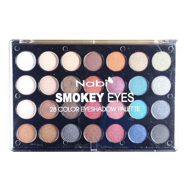 A659S - SMOKEY EYES 28 COLOR EYESHADOW PALETTE