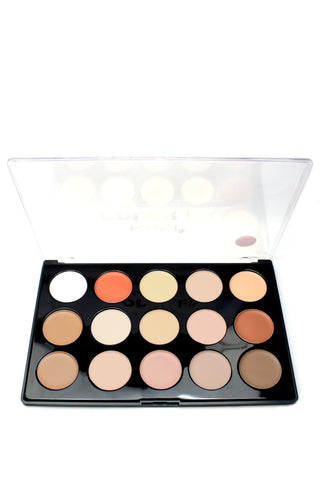 15 Shades of Color Fix Concealer Palette