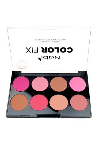 AC02 B - Color Fix 8 Color Blusher Palette B
