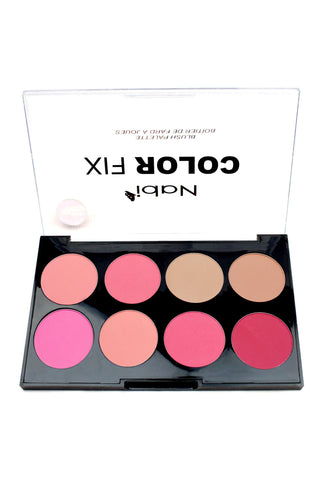 AC02 C - Color Fix 8 Color Blusher Palette C