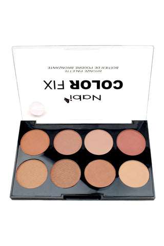 AC03 A - Color Fix 8 Color Bronzer Palette