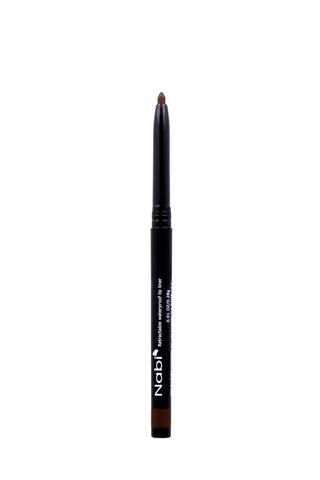 AP04 - Retractable Auto Lip Liner Pencil Black Brown