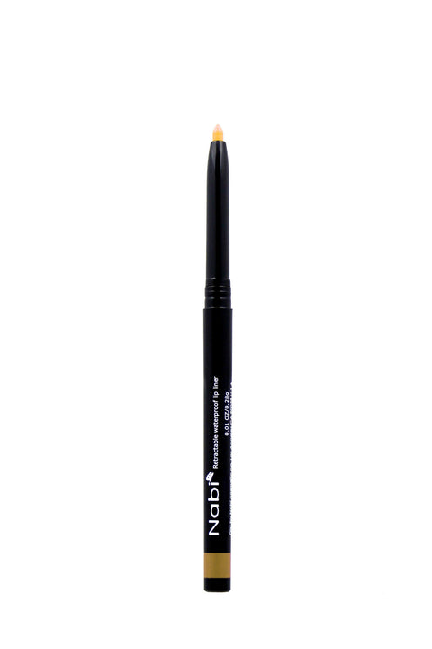 AP08 - Retractable Auto Lip Liner Pencil Gold