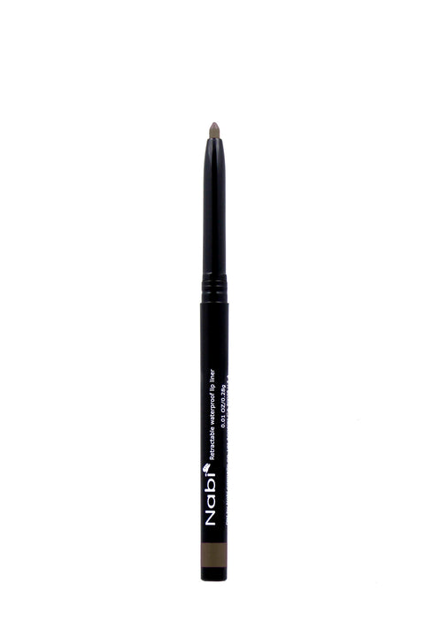 AP16 - Retractable Auto Lip Liner Pencil Khaki