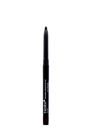 AP32 - Retractable Auto Lip Liner Pencil Black Glitter