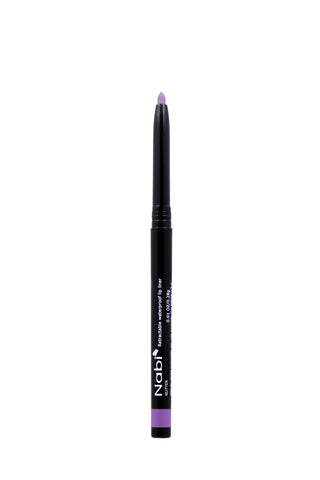 AP33 - Retractable Auto Lip Liner Pencil Purple Glitter