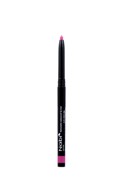 AP34 - Retractable Auto Eye Liner Pencil Pink Glitter