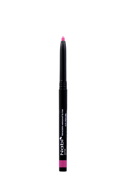 AP34 - Retractable Auto Lip Liner Pencil Pink Glitter