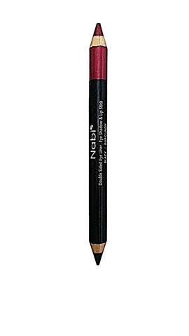 DEL02 3 in 1 Jumbo Duo Pencil Burgundy
