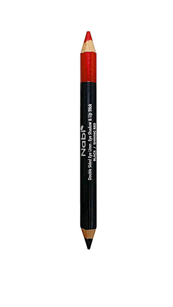 DEL12 - 3 in 1 Jumbo Duo Pencil Shining Red