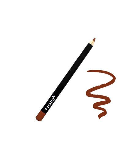 "E02 - 5 1/2"" Short Eyeliner Pencil Brown"