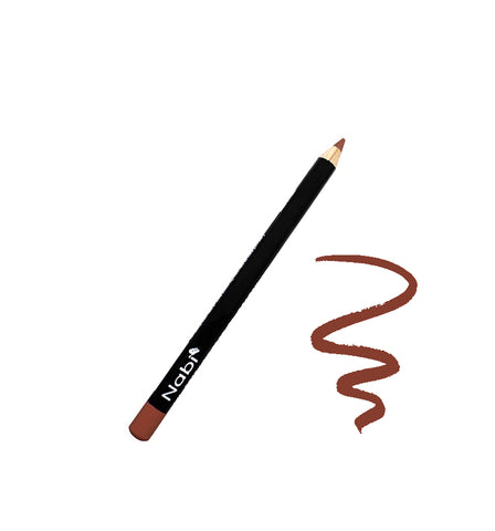 "E04 - 5 1/2"" Short Eyeliner Pencil Light Brown"