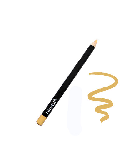 "E09 - 5 1/2"" Short Eyeliner Pencil Gold"