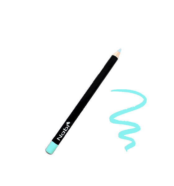 "E26 - 5 1/2"" Short Eyeliner Pencil Baby Blue"