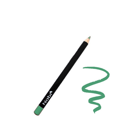"E28 - 5 1/2"" Short Eyeliner Pencil Mint Green"