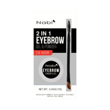 2 in 1 Eyebrow Gel & Powder Black