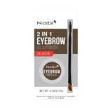 2 in 1 Eyebrow Gel & Powder Dark Brown