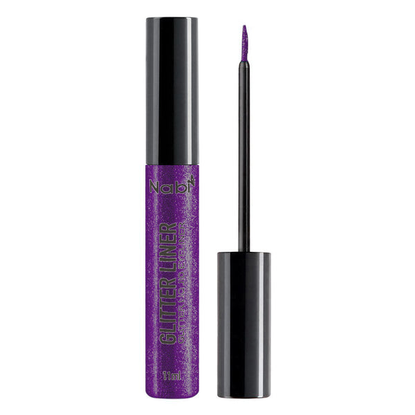 ELG-07 GLITTER LIQUID EYELINER PURPLE