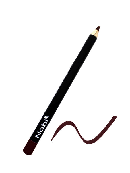 "L08 - 5 1/2"" Short Lipliner Pencil Deep Purple"