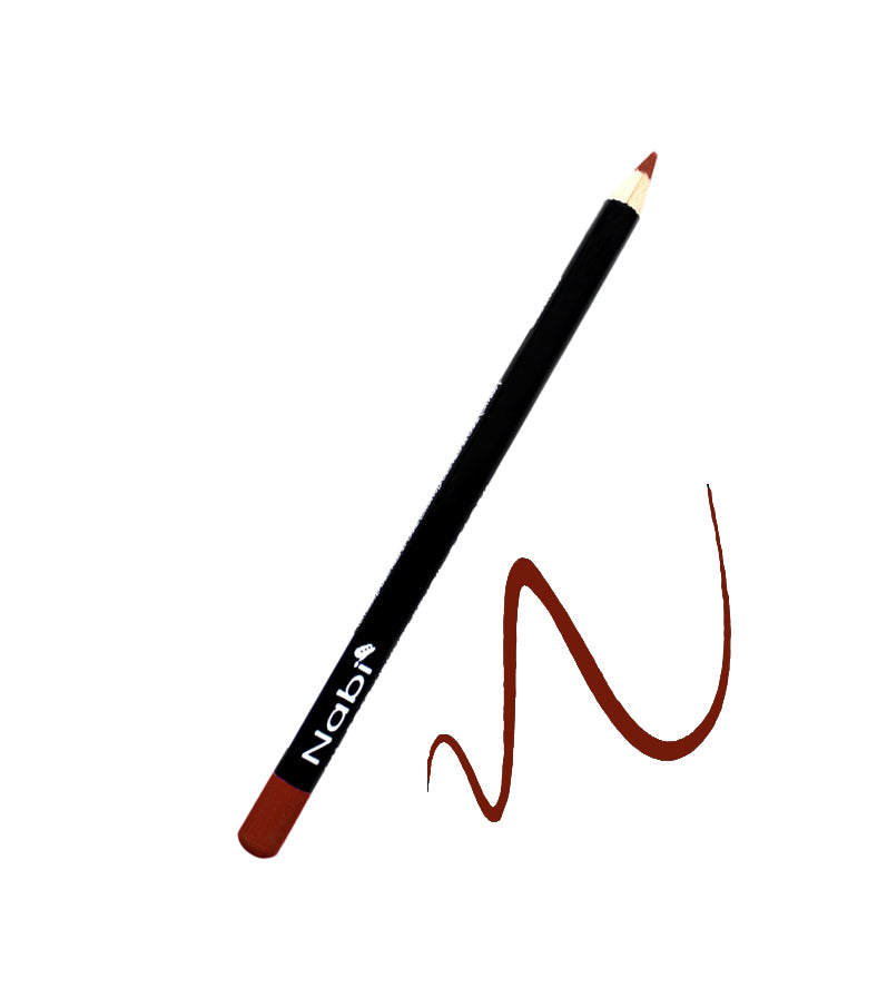"L32 - 7 1/2"" Long Lipliner Pencil Red Brown"