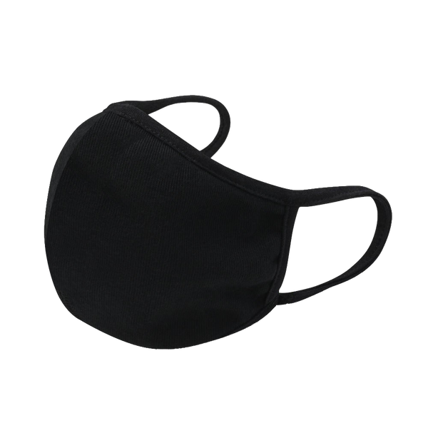 Black Fashion Cotton mask 12pcs / pack