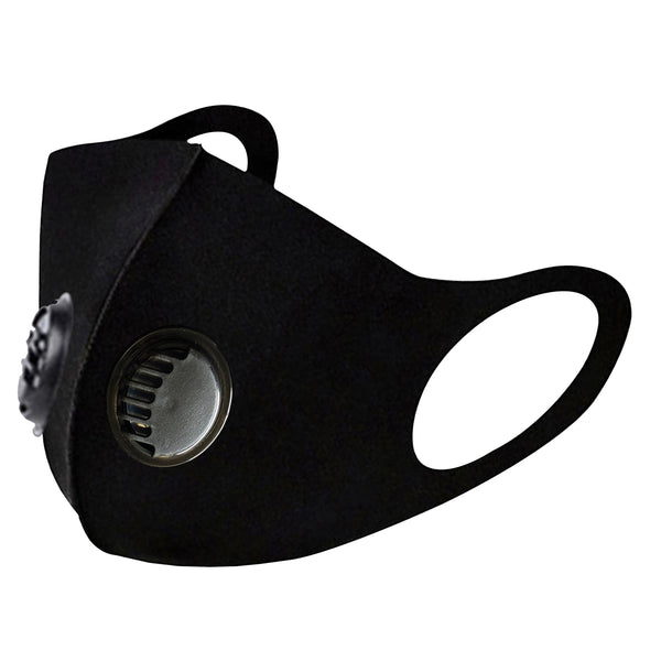 Fashion Mask with Filter (both side) Black 12pcs / pack