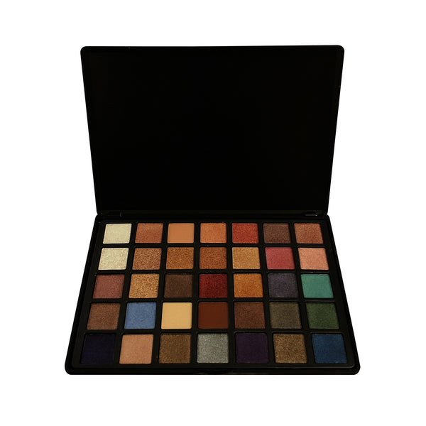 35 COLOR EYESHADOW PALETTE - LOS ANGELES