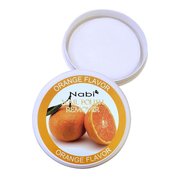Nail Polish Remove Pad Orange Flavor