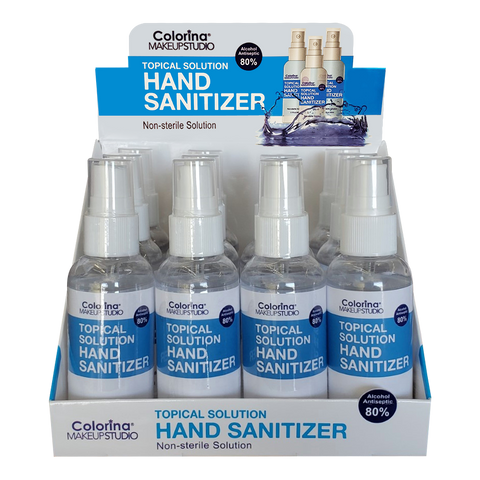 2.1fl.oz Spray Hand Sanitizer 12pcs/pack